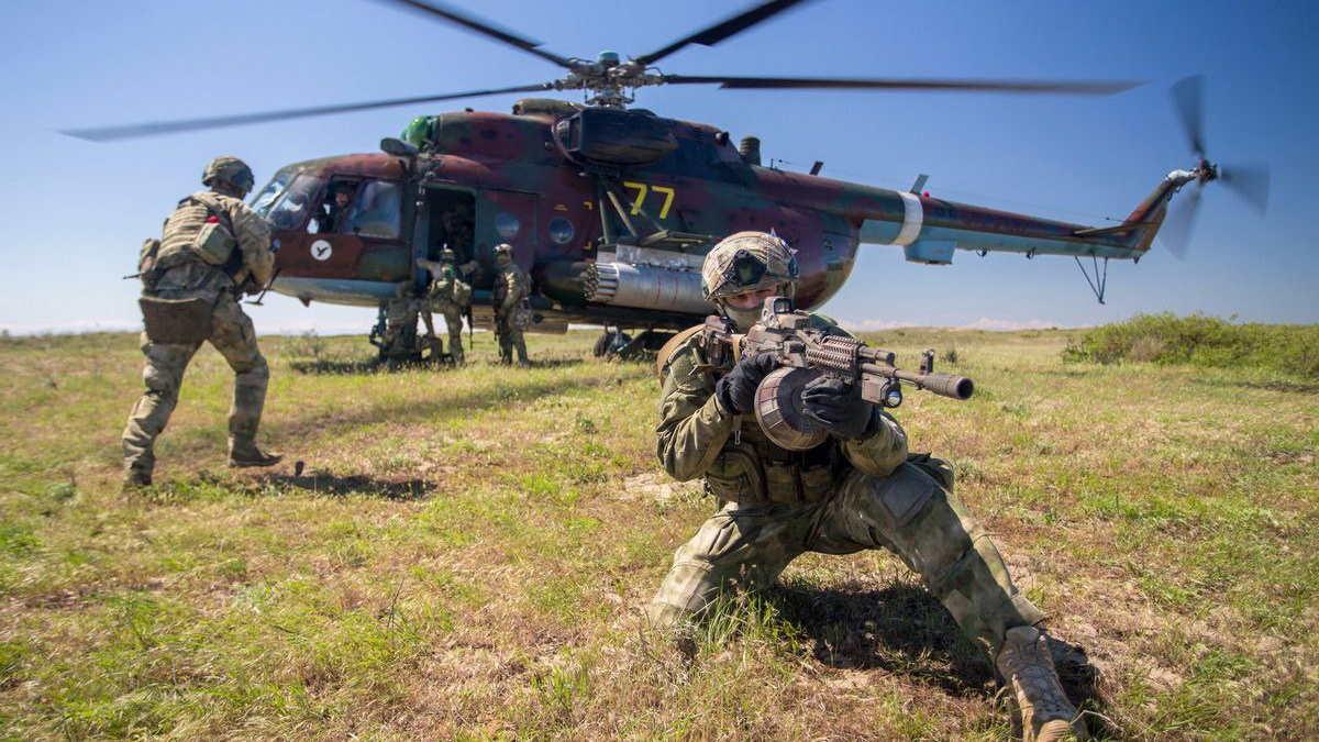 Вертолёт десант