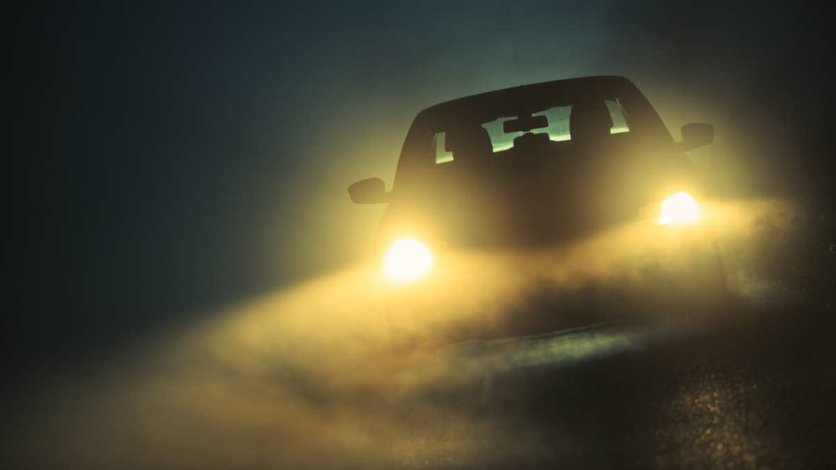 туман автомобиль