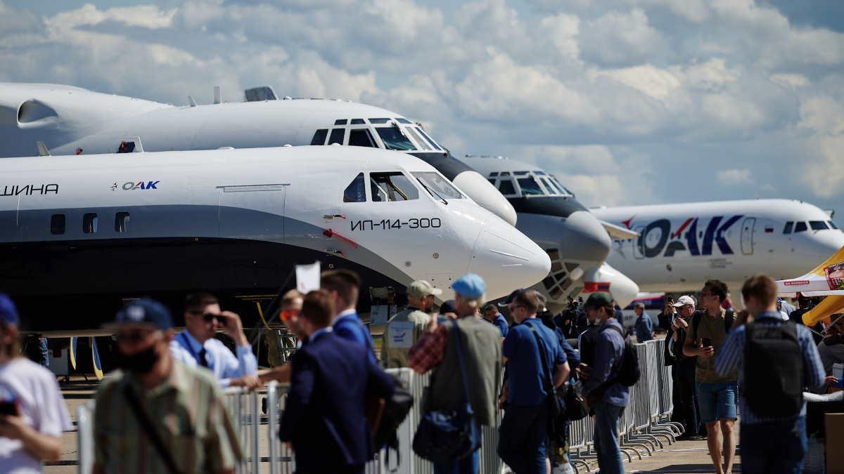 Авиасалон МАКС-2021