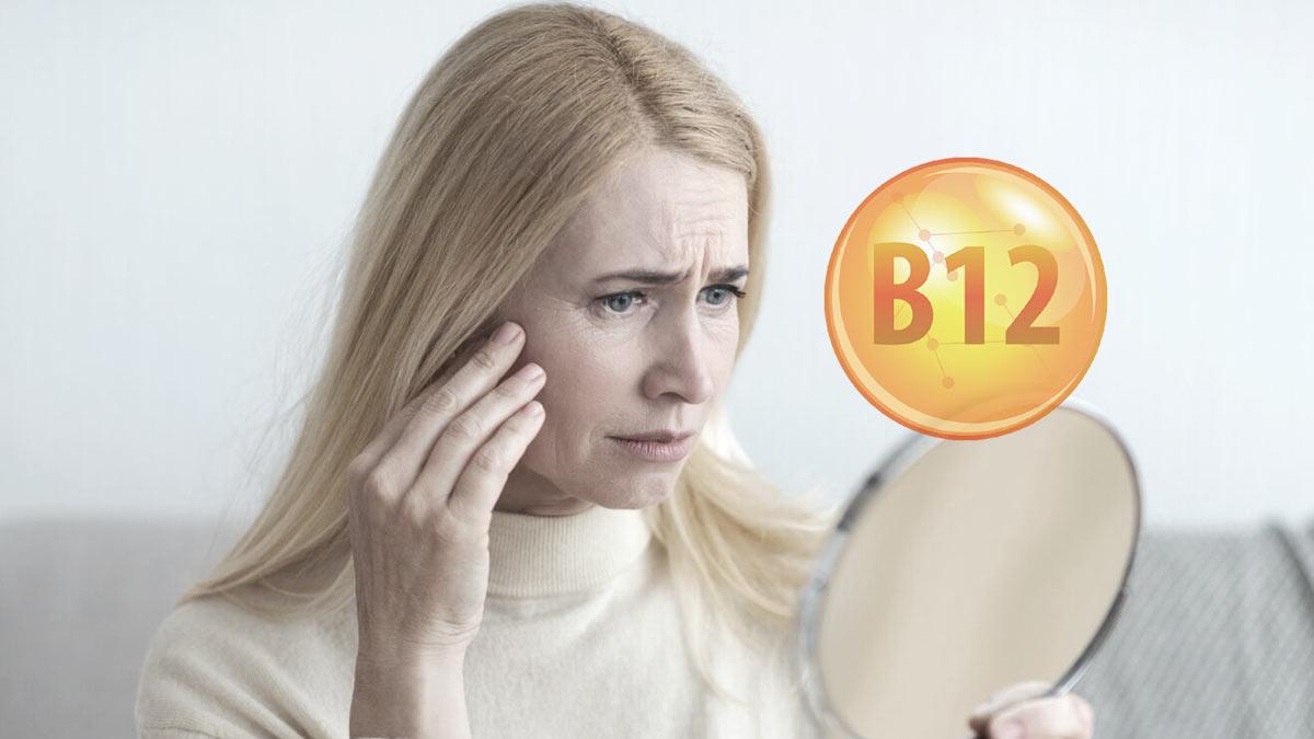 витамин B12 бледное лицо