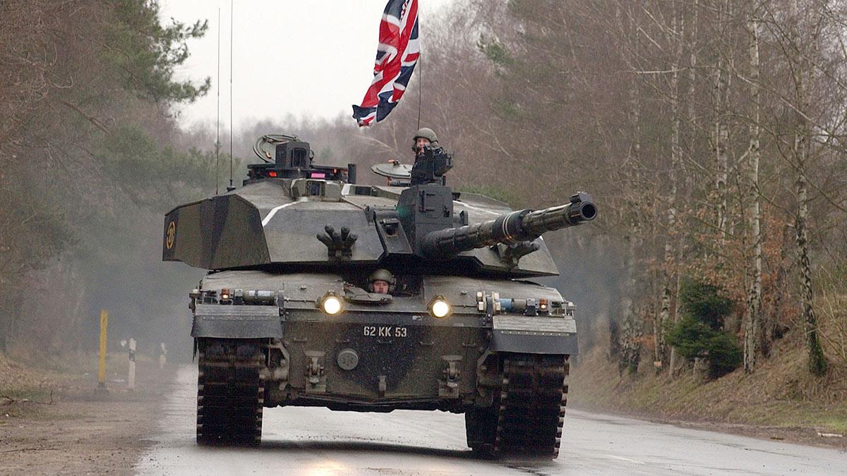 Challenger 2 танк сухопутных войск Великобритании