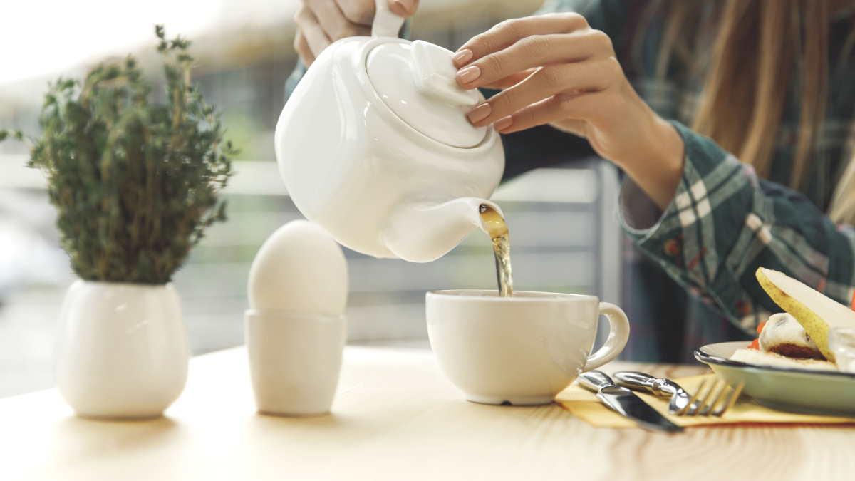 Чай завтрак