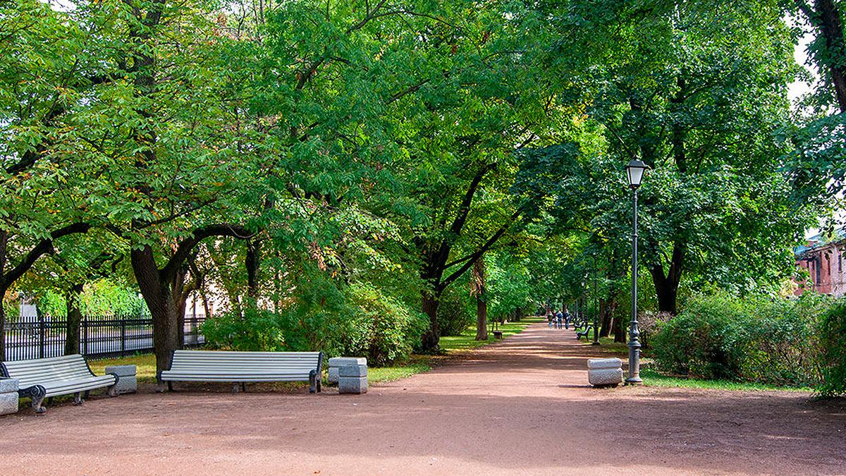 Екатерининский парк Кронштадт