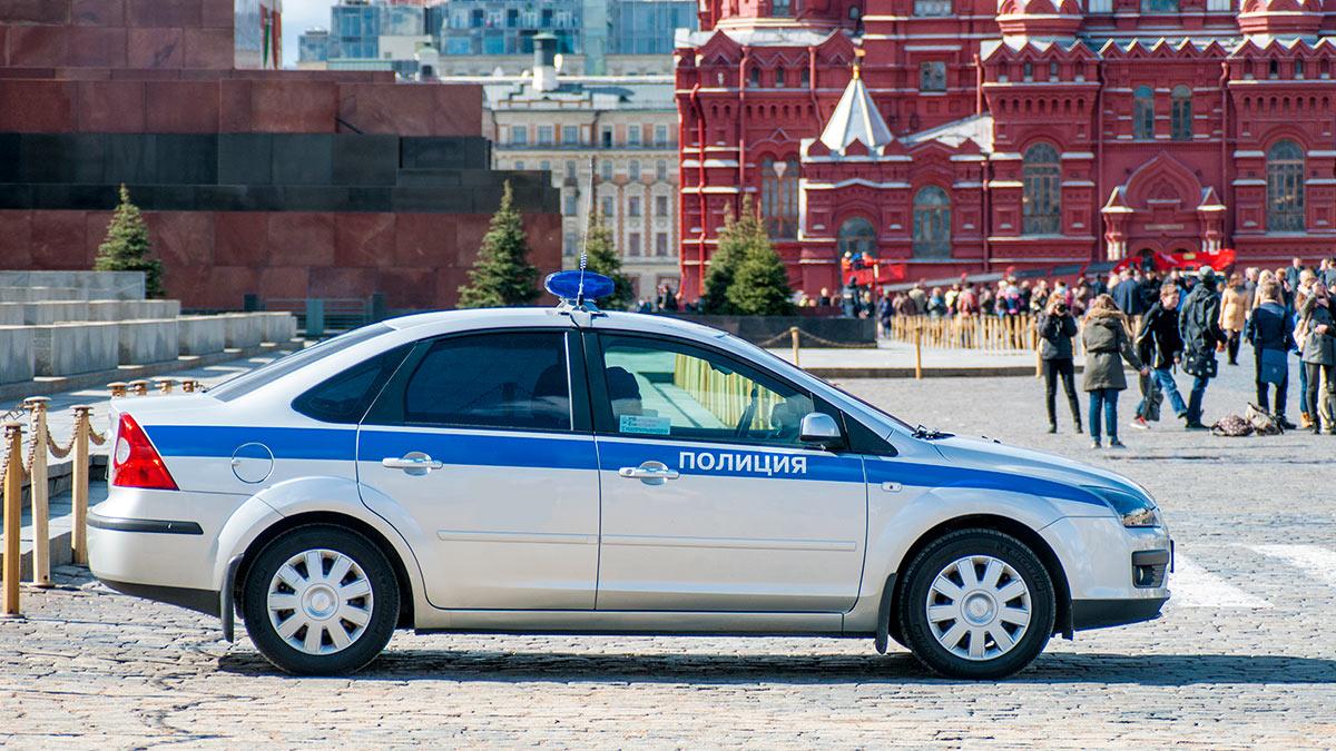 Полиция Красная Площадь