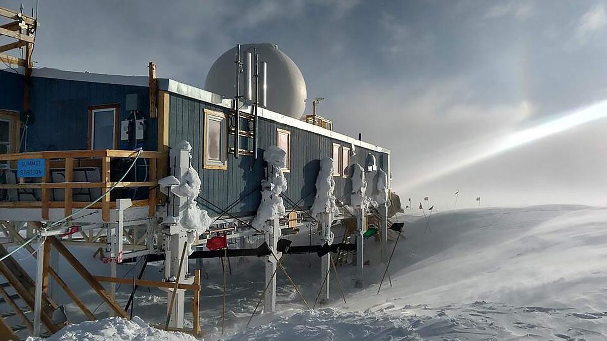 Радио-нейтринная обсерватория в Гренландии