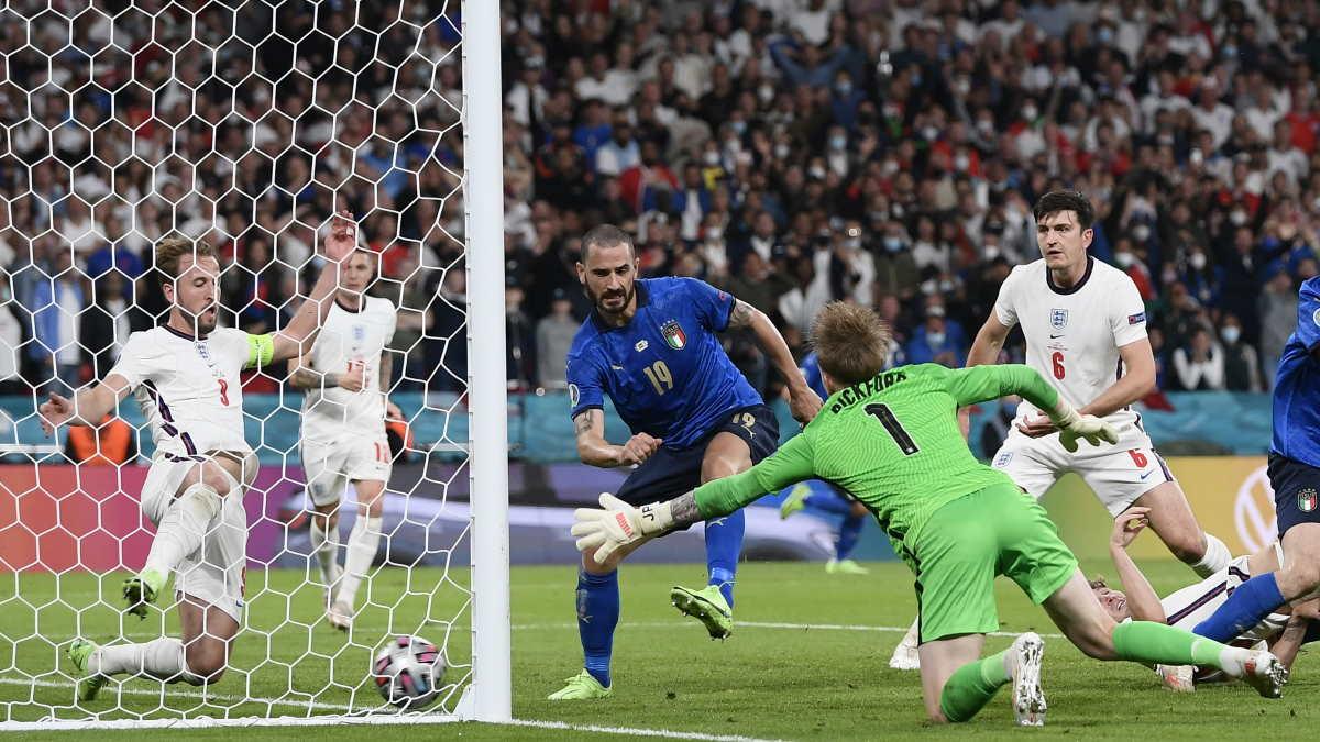 Италия - Англия футбол