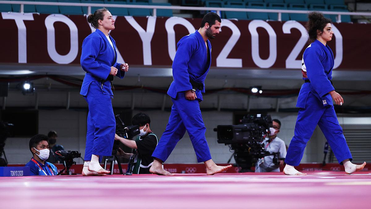Олимпиада-2020 Дзюдоисты