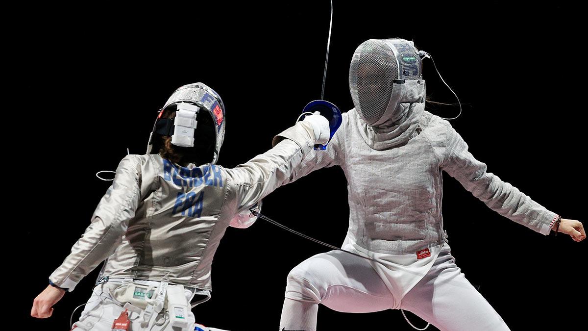 Япония Олимпиада-2020 Фехтование