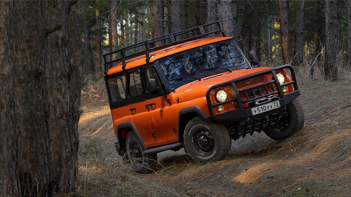 UAZ Hunter Expedition