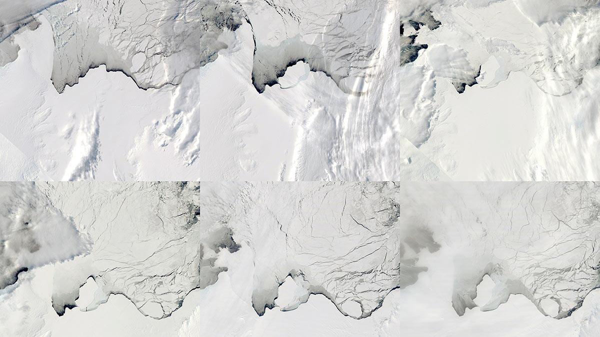 Озеро в Антарктике