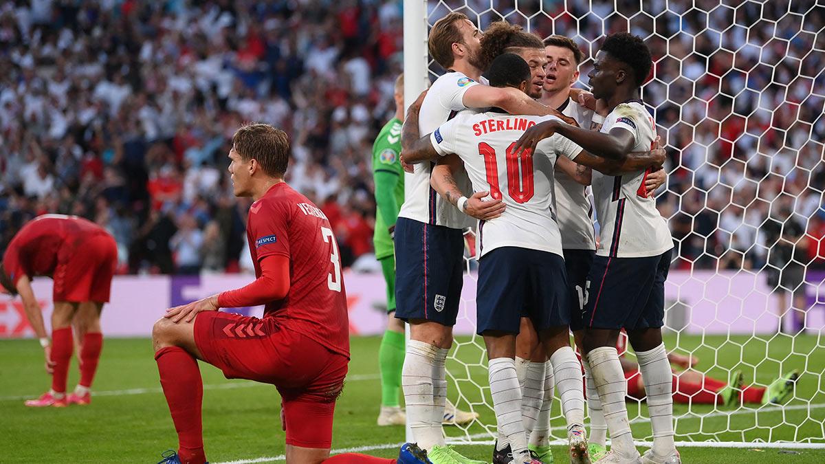 Англия-Дания евро 2020