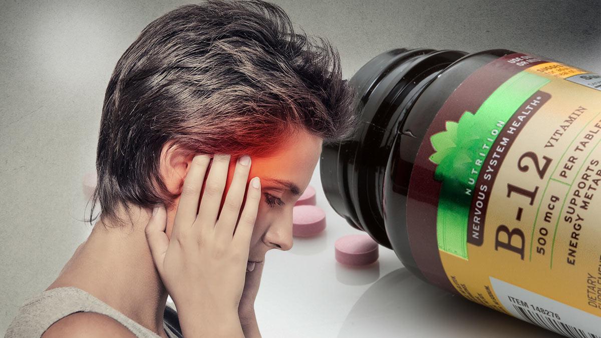 витамин b-12 головная боль