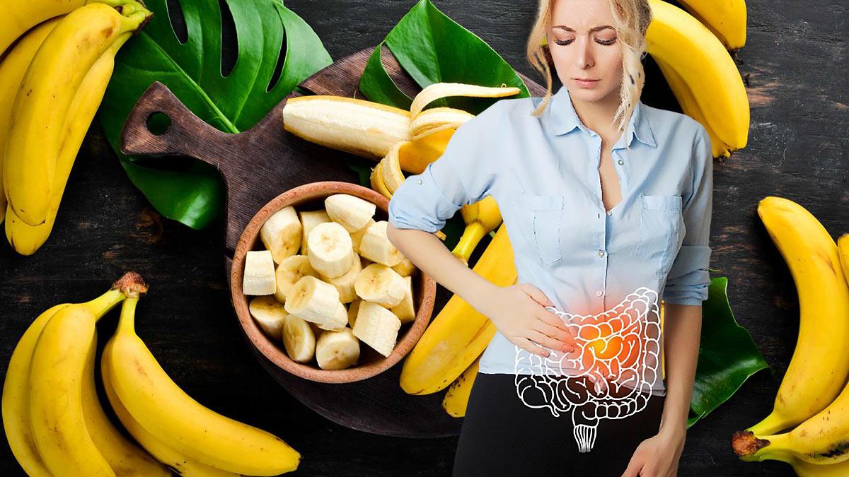 бананы пищеварение