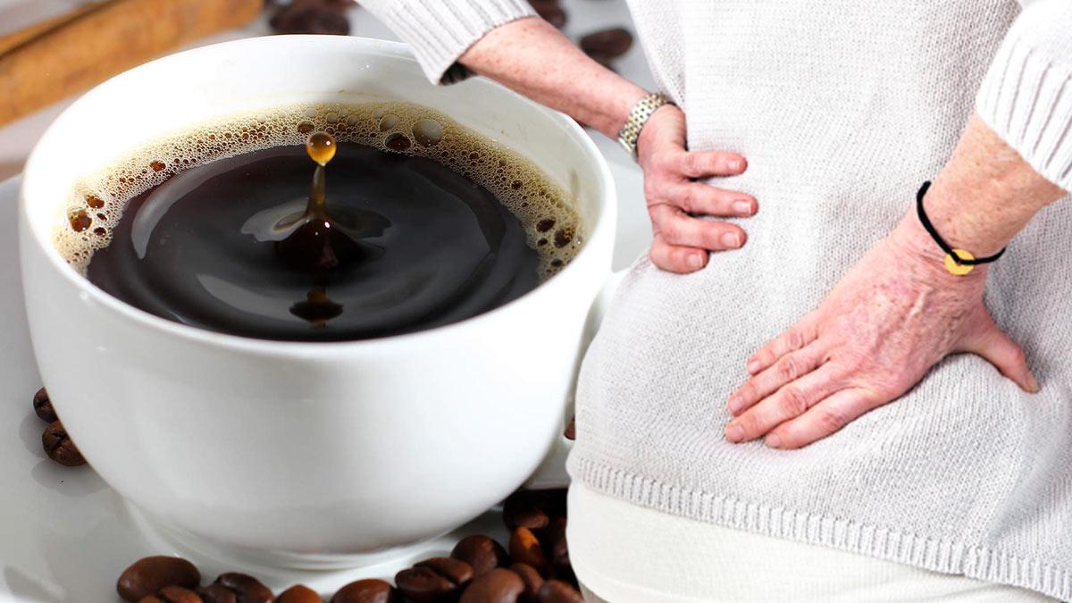 чашка кофе остеопороз