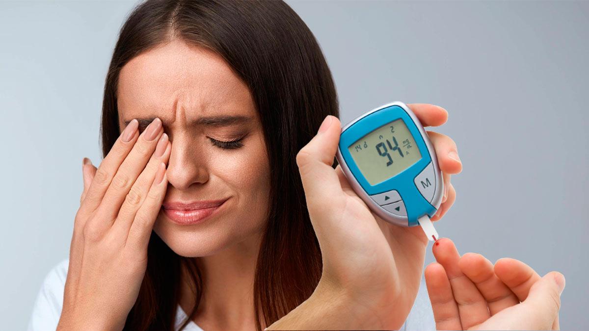 девушка диабет