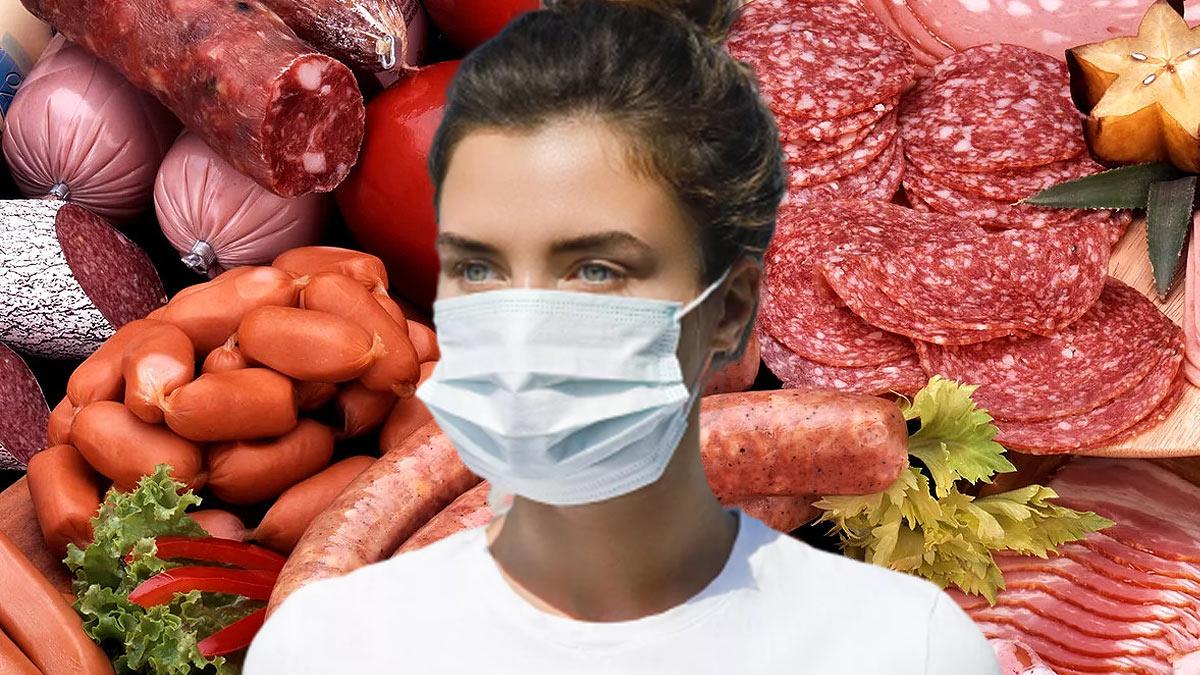 девушка маска коронавирус