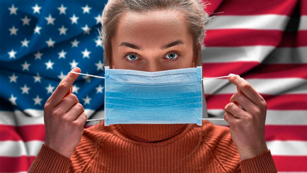 девушка США