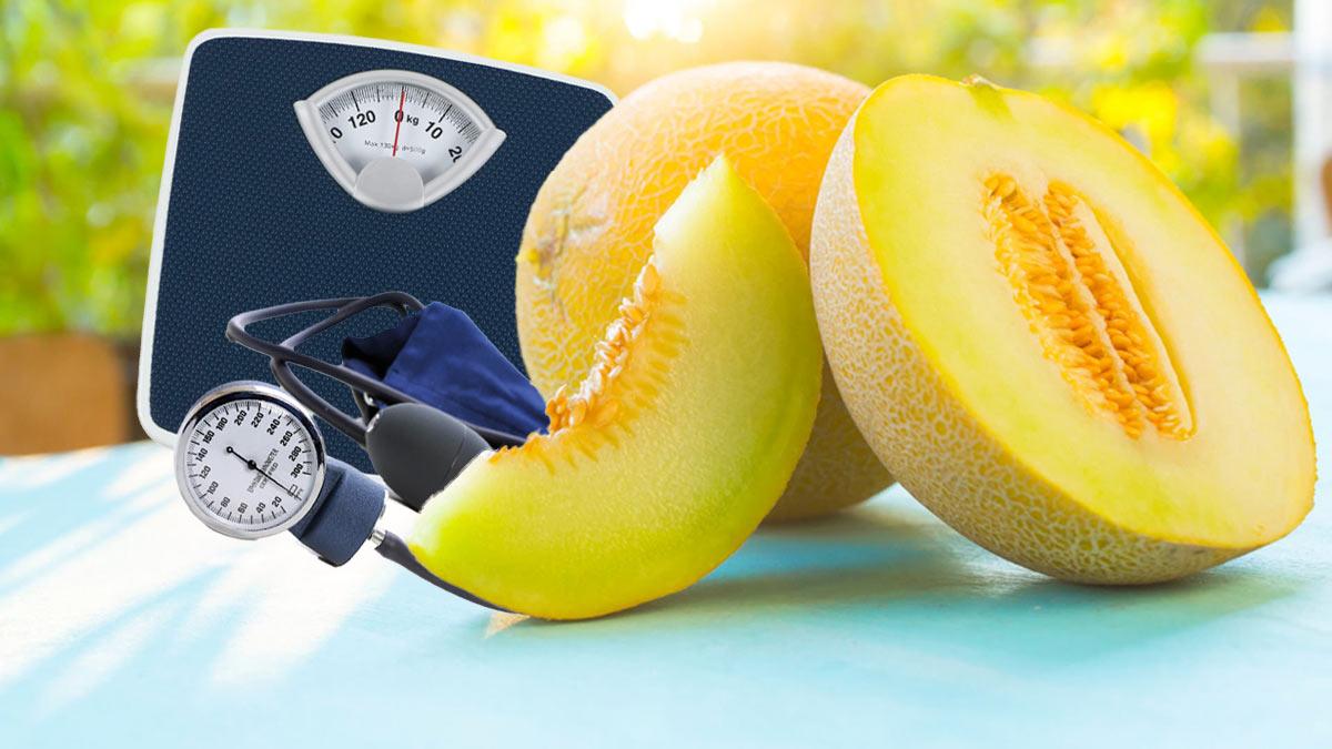 Польза дыни весы тонометр