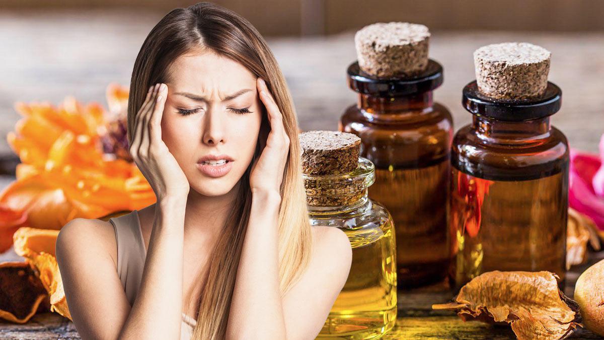 эфирные масла головная боль