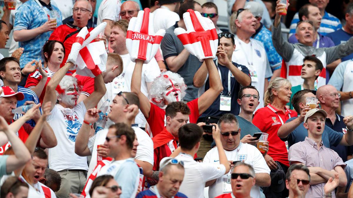 фанаты Англия футбол