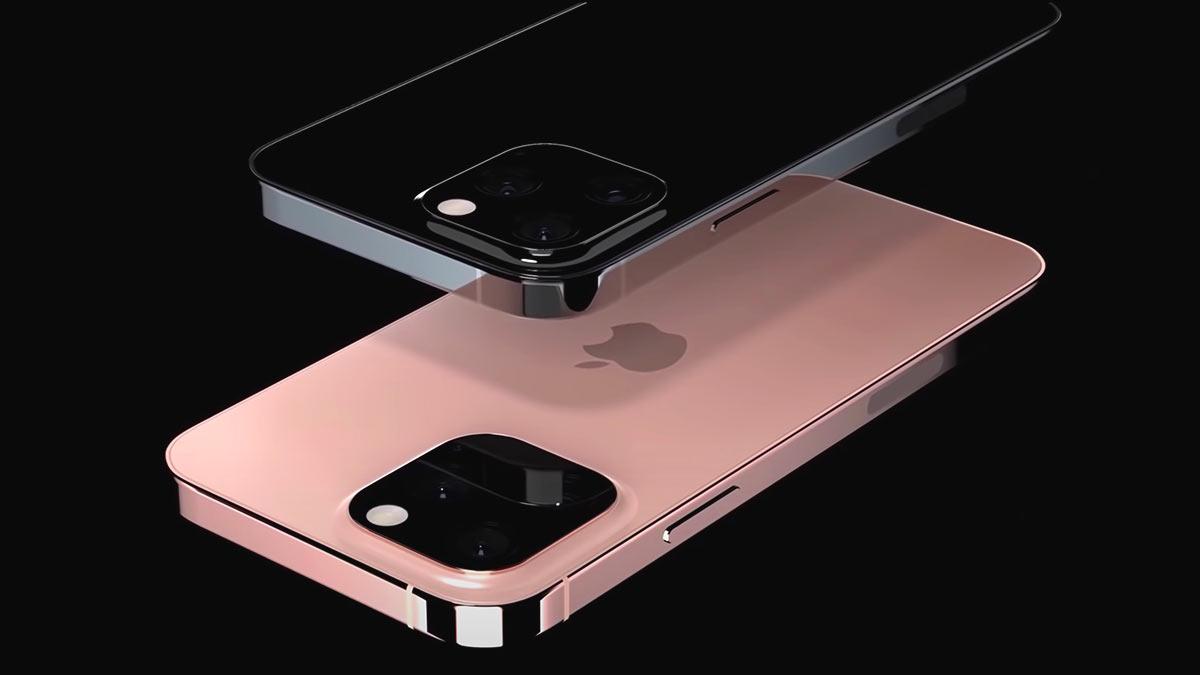 iphone 13 на черном фоне