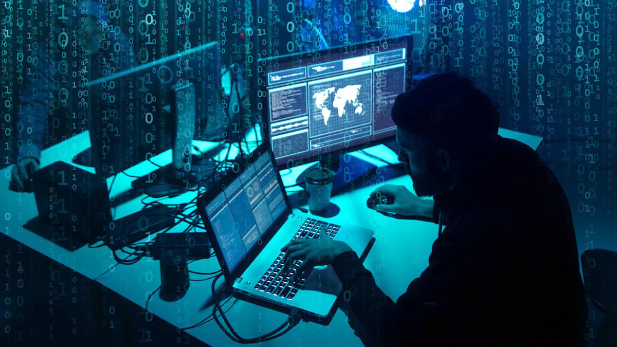 кибератака хакер