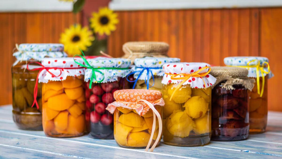консервированные фрукты ягоды