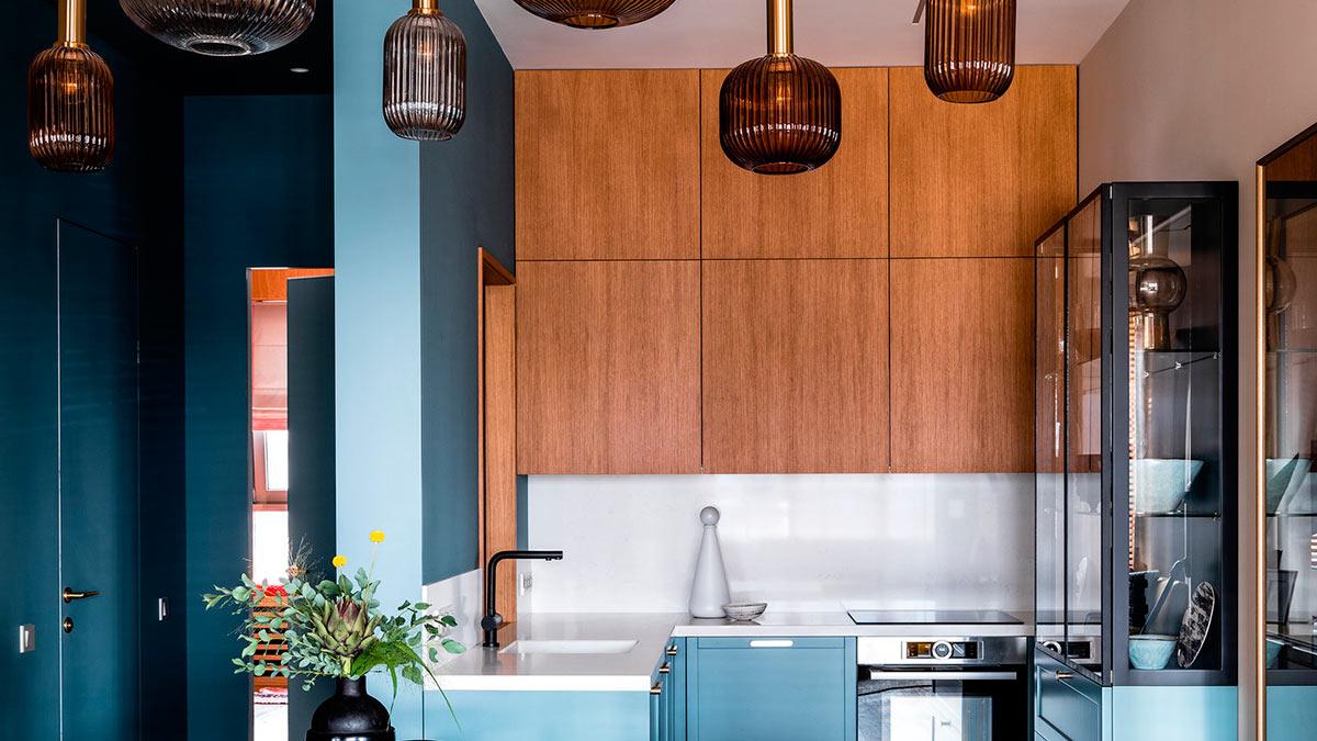 кухня лампы