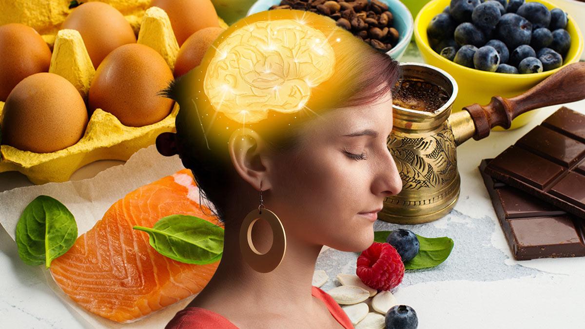 продукты полезные для памяти