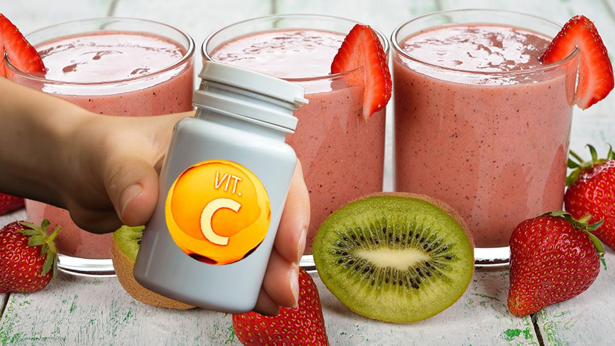 молочный смузи с витамином C