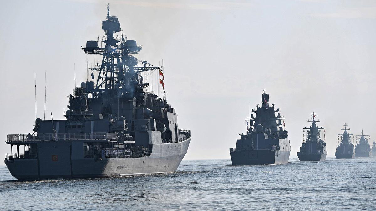Военный морской парад