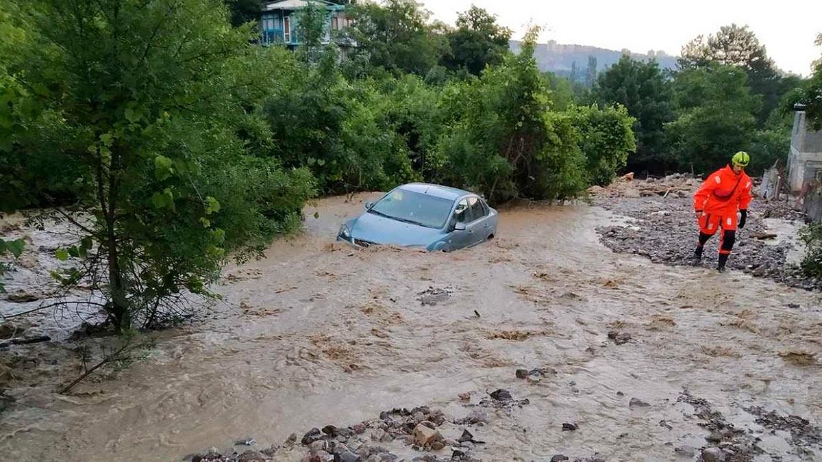 потоп Крым