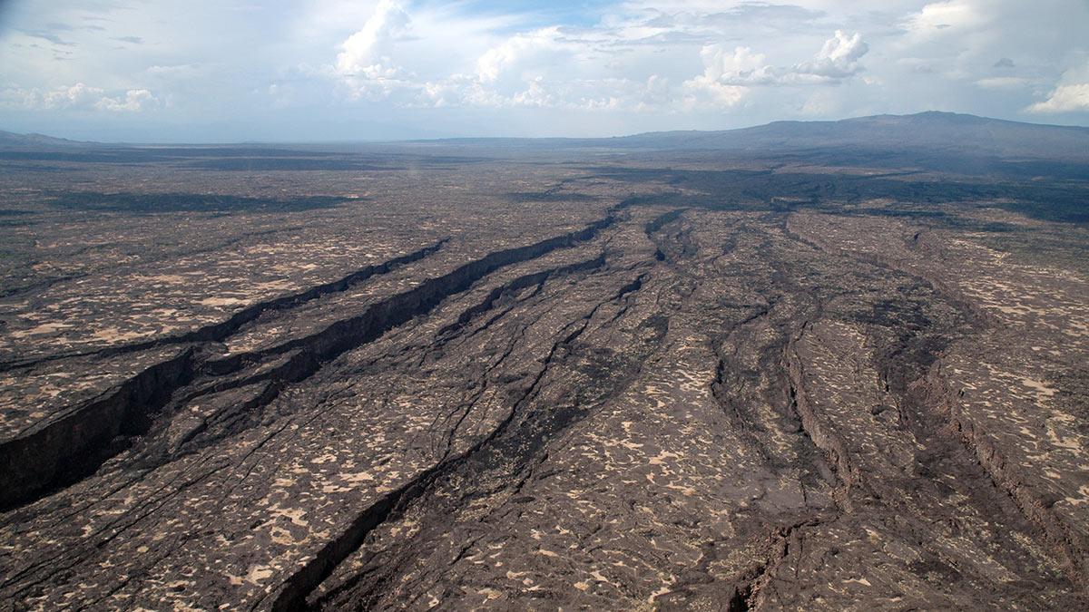 Афарская котловина Впадина тектонический разлом