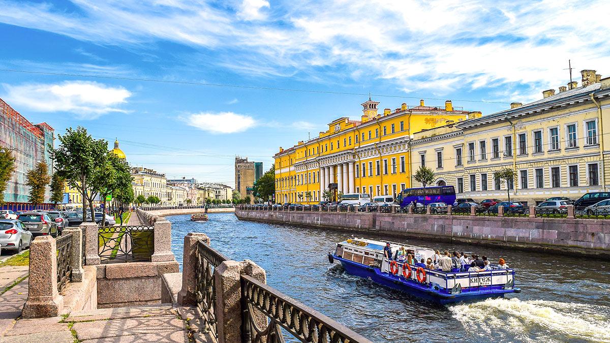 Санкт-Петербург лето