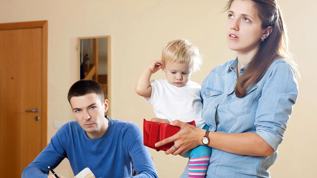 семья долги