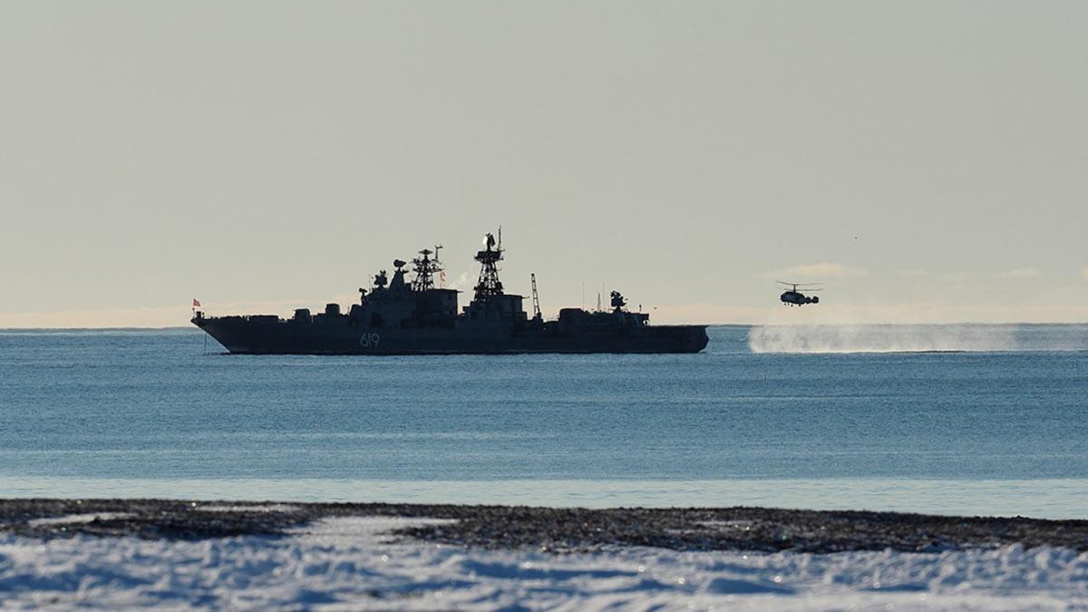 Северный флот учения