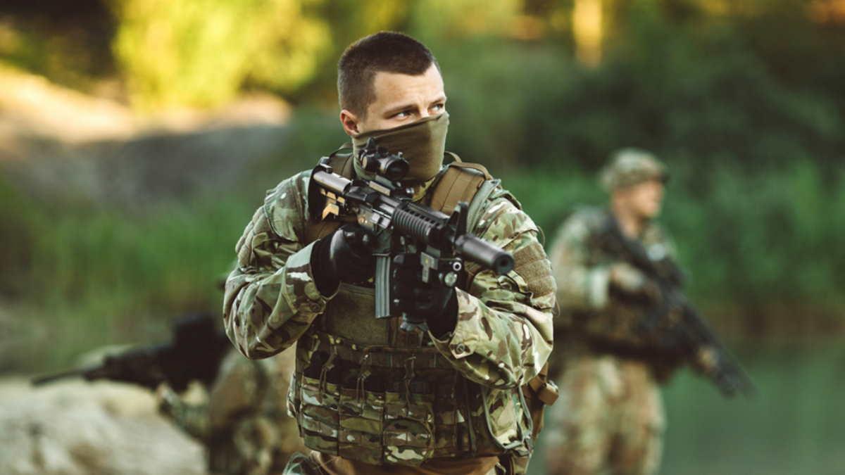 британский спецназ