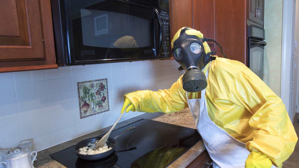 Кухня плохой запах