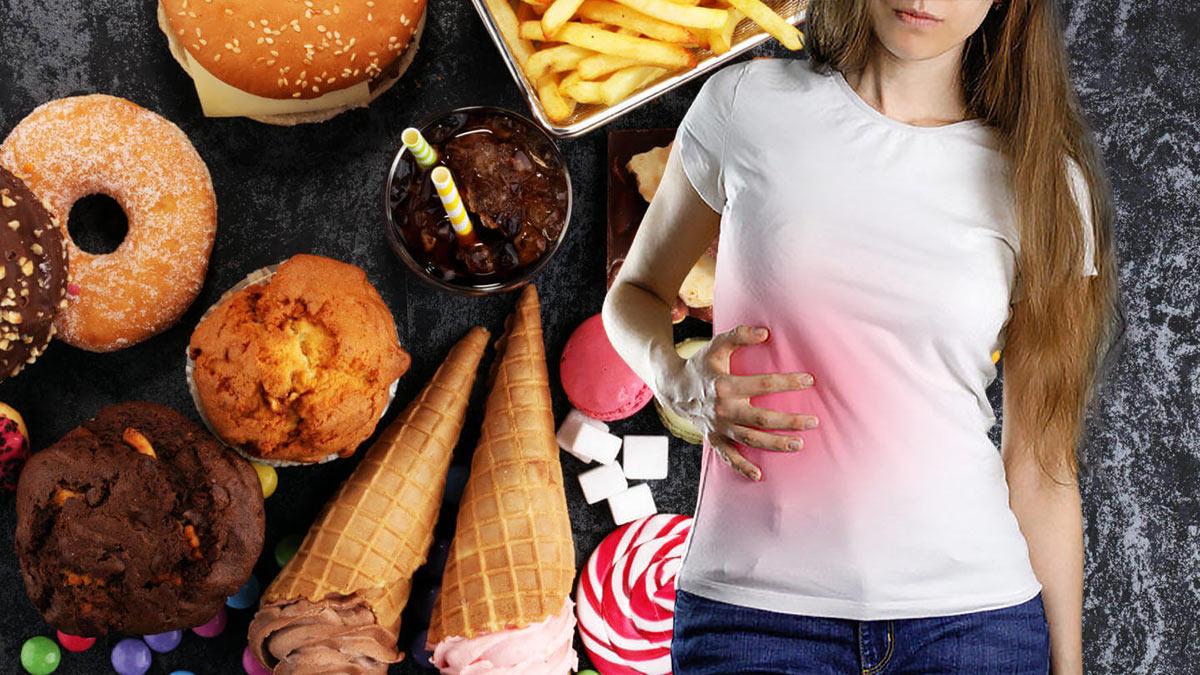нездоровая пища боль в печени