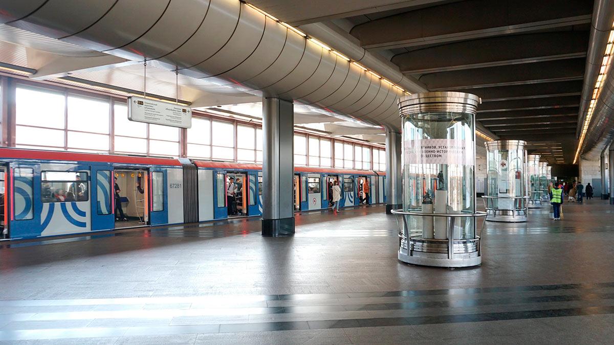 метро Воробьевы горы