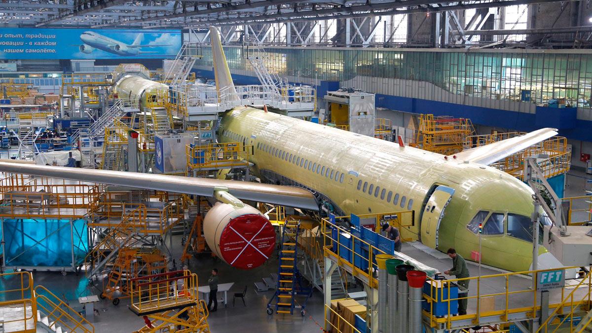 строительство самолетов