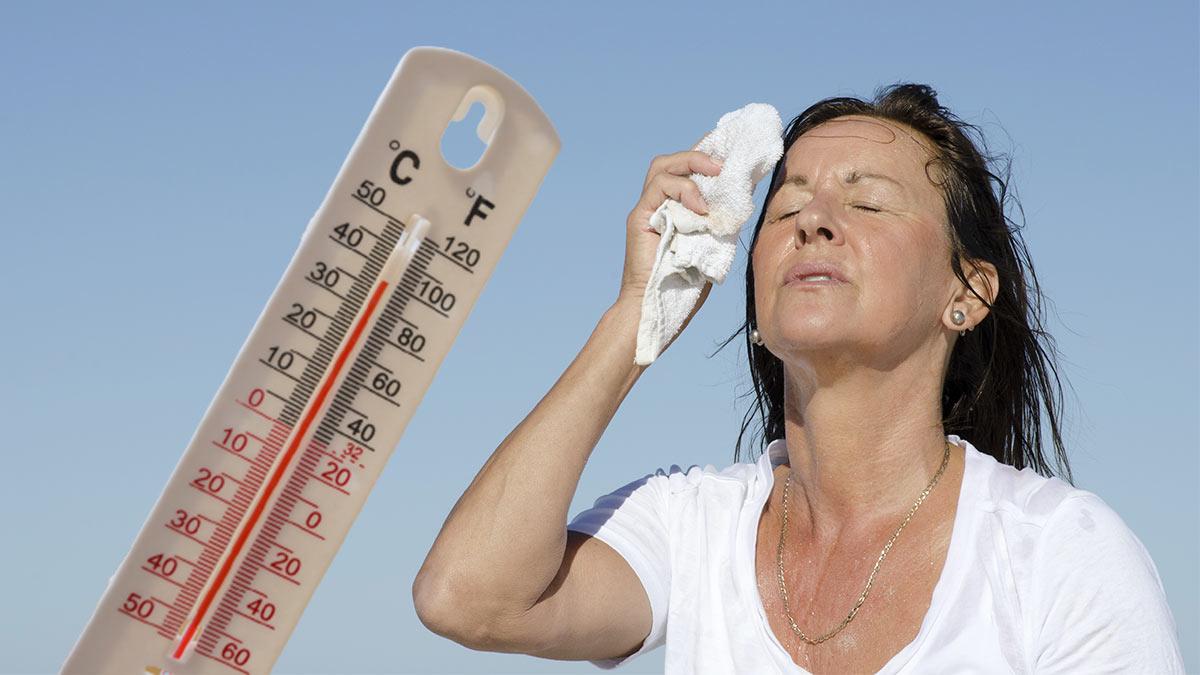 термометр жара