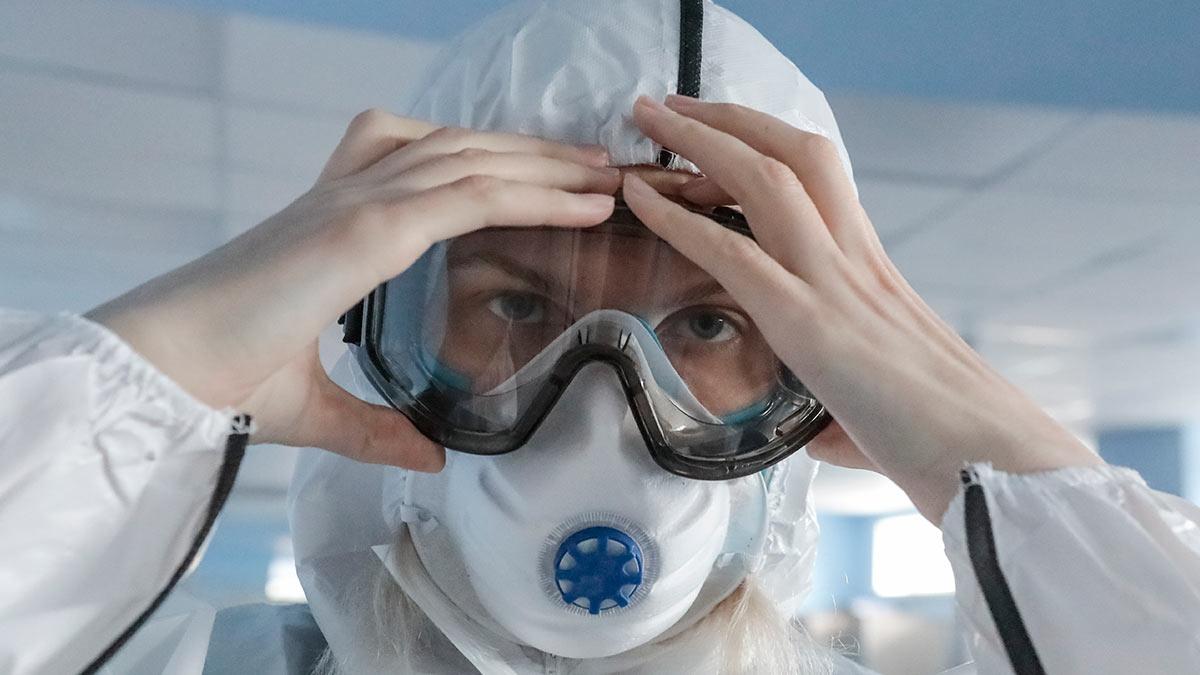 маска костюм защитный