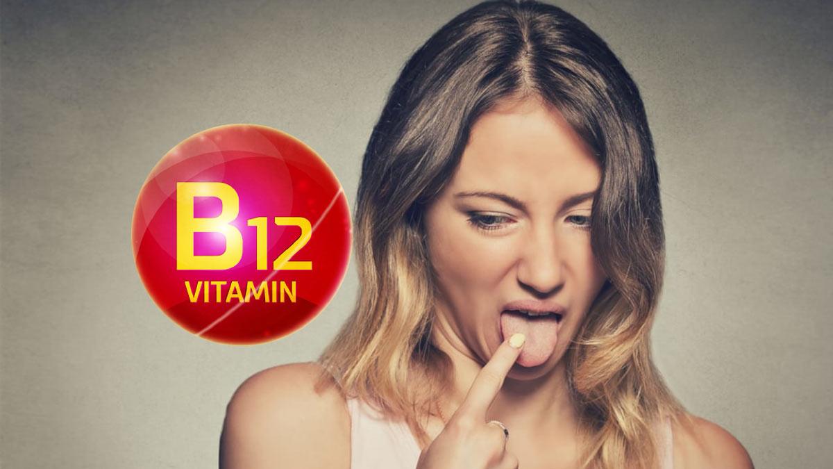 Проблемы с языком витамин B12