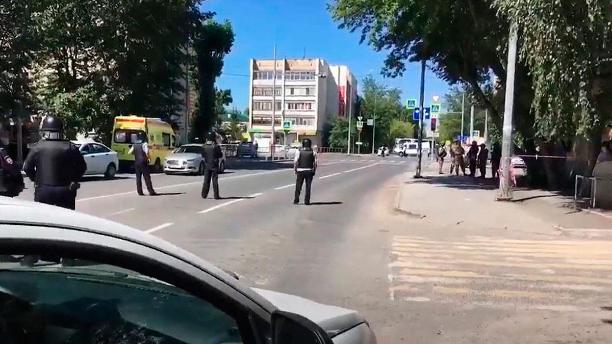 захват заложников полиция