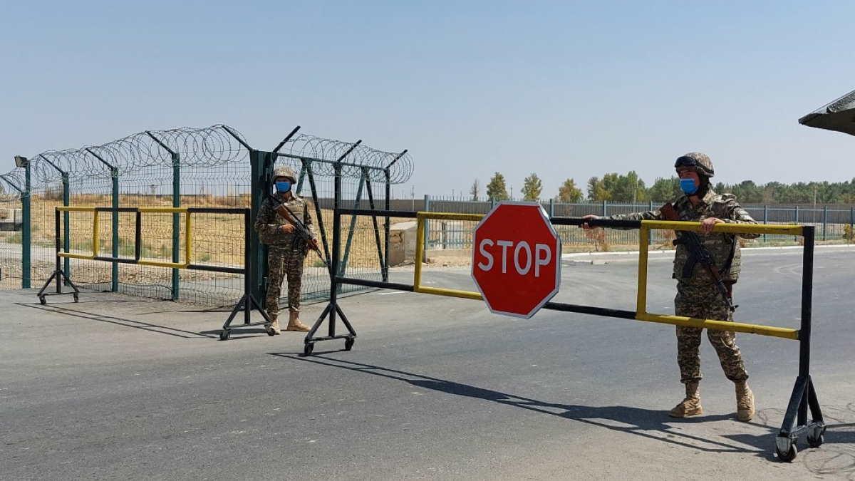 Узбекистан граница