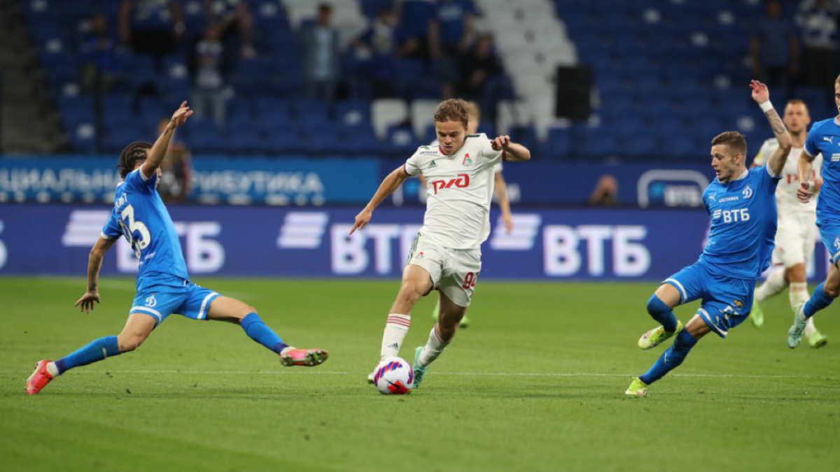 Динамо - Локомотив футбол