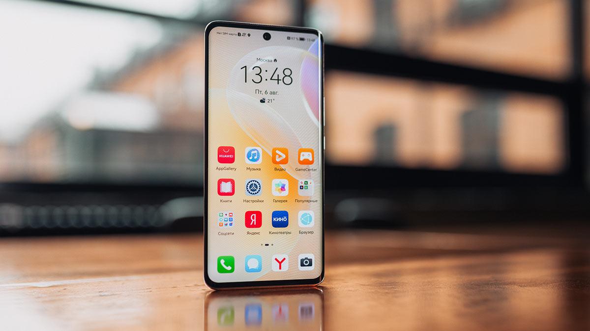 Новый смартфон Huawei Nova 8