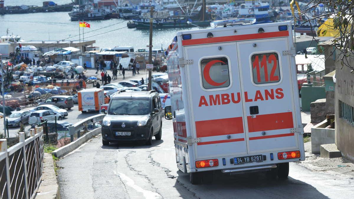 Турция скорая помощь дорога