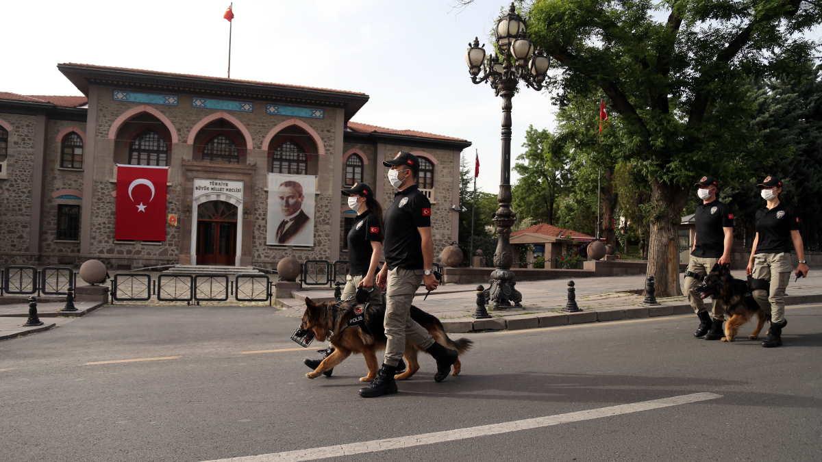 Турция полиция